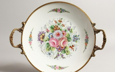 A ROYAL WORCESTER LILY LEAF DISH Pattern no. 983