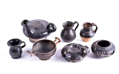 A group antiquities, 4th century BC and later, to include a ...