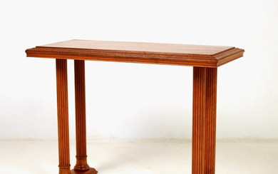 Console table, cherry wood, around 1940.