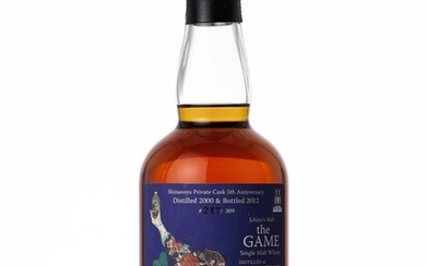 羽生 Hanyu Ichiro's Malt The Game 3rd Edition 57.5 abv 2000 (1 BT70)