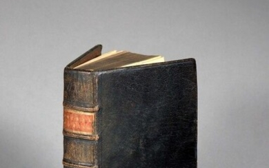 [Jansenism]. DUGUET (Jacques Joseph)]. Treatise on public prayer, and on the dispositions for offering the holy mysteries, and participating in them with fruit. In Paris, by J. Estienne, 1708. Two parts in 1 vol. in-12, [8] f., 284 p., [2] f., 252...