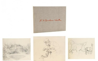 One Hundred Ten Unpublished Drawings by Toulouse