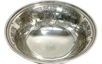 Tiffany & Co. Makers Sterling Silver Bowl