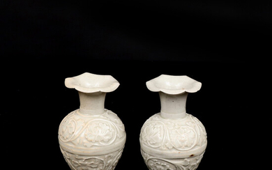 VASES, a pair, porcelain, Sung Dynasty (960-1279), China.