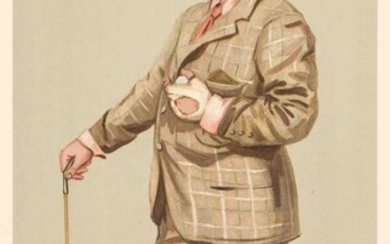 Vanity Fair. A collection of 51 sporting related cartoons, late 19th & early 20th century
