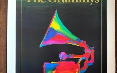 """1989 Grammy Awards - Signed Art by Peter Max (1989) 18"""""""
