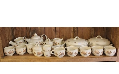 A Collection of Poole Pottery China Ware to include: 2 x Tur...