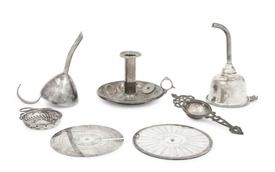 A Collection of Silver-Plate Bar Articles