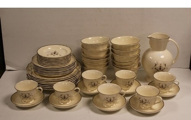 """A Large Collection of Wedgwood """"Queen's Ware"""" (Queen's Filig..."""