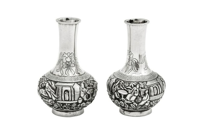 A pair of late 19th / early 20th century Chinese Export