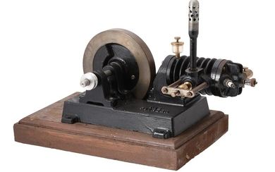 A well engineered model of 'The Pioneer' a horizontal air cooled stationary engine