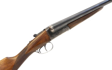 AYA No.4 12 bore side by side shotgun LICENCE REQUIRED