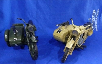 Action Man; A late 1970's German Motorcycle and Machine Gun ...