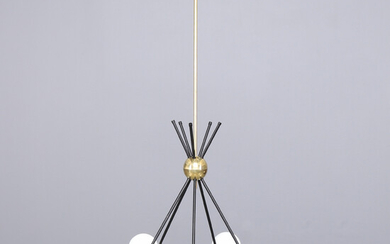 """CEILING LAMP, Contemporary, Luci Srl, Parma, Italy, """"Mini Crystal Eggs""""."""