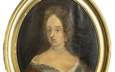 CONTINENTAL OIL ON CANVAS, PORTRAIT OF WOMAN
