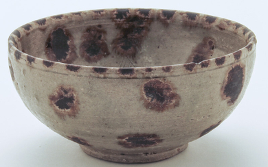 Chinese Southern Dynasty iron spots bowl