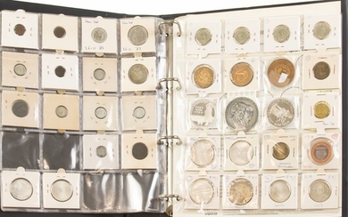 Collection various Dutch coins and medals