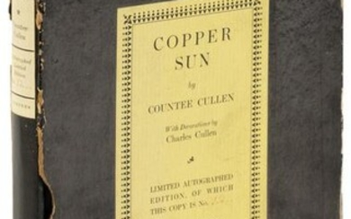 Cullen Copper Sun signed limited first edition