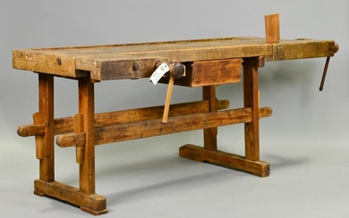 European Workbench With Vice #2