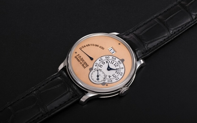 F. P. JOURNE, AN EARLY PLATINUM OCTA RÉSERVE DE MARCHE WITH BRASS MOVEMENT
