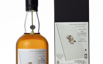 羽生 Hanyu Ichiro's Malt The Game 5th Edition 59.5 abv 2000 (1 BT70)