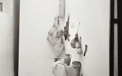 Irving Penn, Still Life (with Mouse), New York