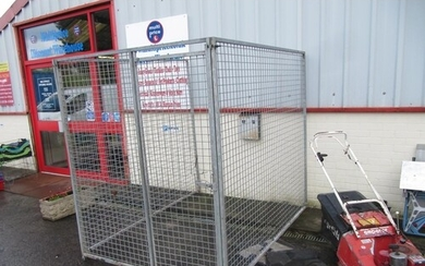 Large Aluminium Three Side Animal Run / Dog Cage.
