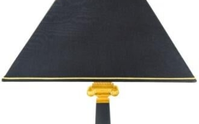 Versace Obelisco 24K Gold Plated Table Lamp
