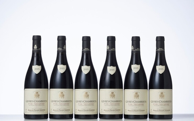 6 Bouteilles GEVREY-CHAMBERTIN LES CAZETIERS (1° Cru) Année : 2015 Appellation : Domaine Philippe Naddef...