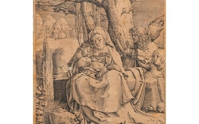 After Lucas van Leyden (1494 - 1533), etching on paper, 16th...