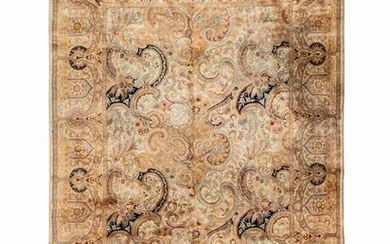 An Indian Wool and Silk Rug