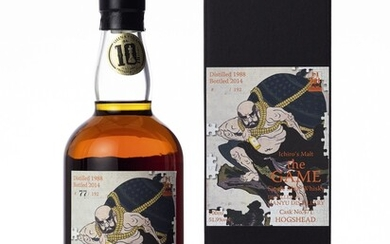 羽生 Hanyu Ichiro's Malt The Game 6th Edition 51.9 abv 1988 (1 BT70)