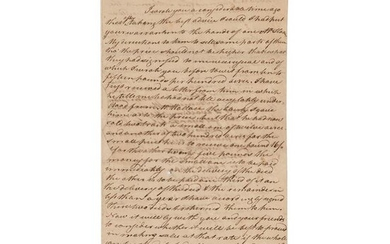 John Witherspoon Letter Signed