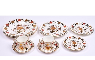 Miscellaneous Royal Crown Derby Japan pattern tea and dinner...