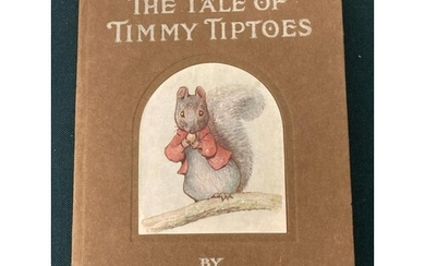 Potter, Beatrix. The Tale of Timmy Tiptoes, first or second ...
