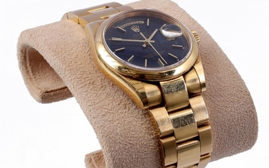(-), Rolex Oyster Perpetual Day Date men's wristwatch...