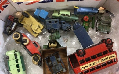 Small collection of Matchbox, Dinky and other models