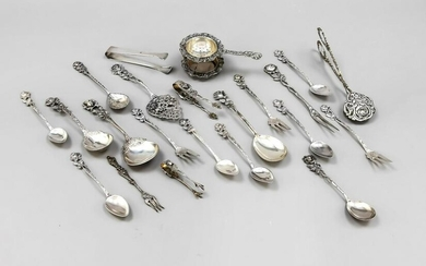mixed lot of cutlery, German