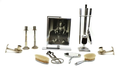 A collection of Art Deco wares