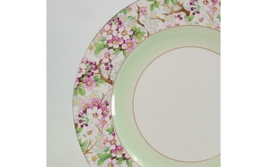 A large collection of Shelley Maytime: Dinner and tea ware c...