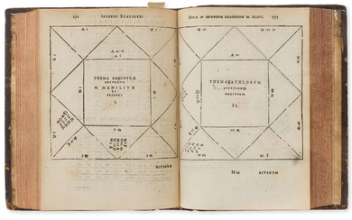 Astrology.- Manilius (Marcus) Astronomicon, edited by Joseph Scaliger, second edition, Leiden, Christopher Raphaelengius for the house of Plantin, 1600.