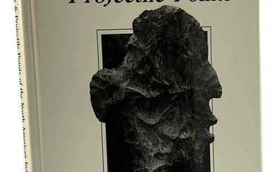 Book: Flint Projectile Points (Red Tully) Hardbound