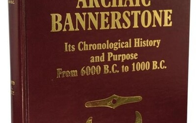 Book: The Archaic Bannerstone by Dave Lutz. 1st