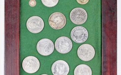 Collection of various coinage to include a Queen Victoria, Half-Sovereign, 1898.