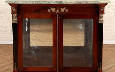 FRENCH NEOCLASSICAL STYLE MAHOGANY CABINET 1900