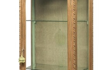 GLASS CABINET IN GILTWOOD 20TH CENTURY
