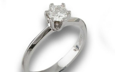 GOLD DIAMOND SOLITAIRE 0.51CTS