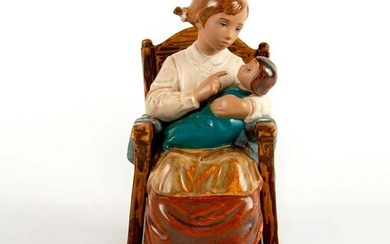 Girl in Rocking Chair 1012089 - Lladro Porcelain