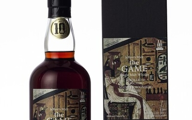 羽生 Hanyu Ichiro's Malt The Game 7th Edition 61.3 abv 2011 (1 BT70)