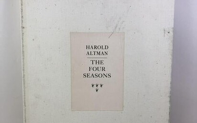 Harold Altman The Four Seasons Print Folio